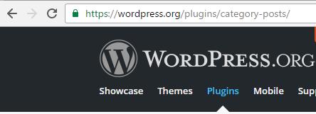 The PlugIn slug is the widget Url path, e.g. 'category-posts'.